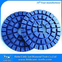 200 mm Floor Renovation Diamond Resin Polishing Pads Wet Use