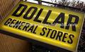 un dólar de mercancía general proveedor