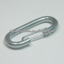 Zinc plated spring snap hook