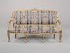 louis xv styles giltwood sofa