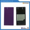 100% original Back Cover Glass Battery glass Door Housing For Sony Xperia Z L36H L36 C6603 C6602 LT36, black white purple