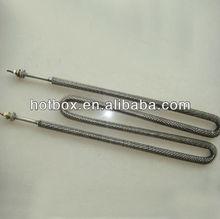 1 year warranty W shape finned air tubular heater