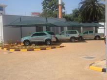 Canopy Car Parking Shade (Polo-Green) by Shade Systems EA LTD