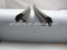 Filling Profile Black Extrusion PVC Parts For Crack