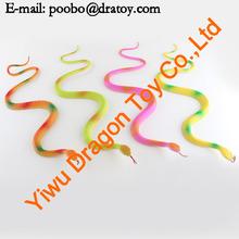 2012 sell lovely plastic toy snake