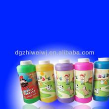 Five colors soap bubble toy