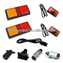 12V&24V Waterproof Trailer Hitch Lighting Kit Tail Light Wiring Harness