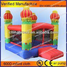 Nice and durable nylon bouncer,family bouncer,inflatable halloween bouncer