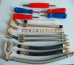 Tyre valve extension/tyre repair tool/tire valve tool