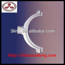 plastic pipe clip plastic tube clip White PVC Pipe Clamp
