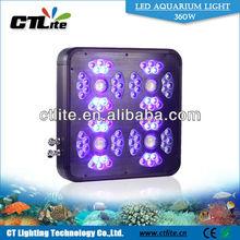 4*40W matrix LED + 80*3W LEDs aquarium design chinese led aquarium light with programmable controller