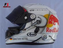 Sebastian Vettel 2013 Helmet Formula 1 Escale 1:1 Exclusive !!
