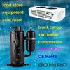 frigorifique pour camion cold freezer unit mini compressor refrigeration R404A QXD-36K ce rohs replace Tecumseh Compressor