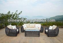 Modern simplicity rattan furniture outdoor sofa sets cns-1140