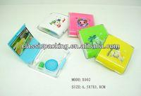 walmart gold supplier cute contact lens cases korea contact lens case,zipper style carrying case