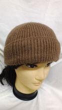 pure camel wool cap