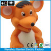 plastic Cartoon rats christmas good beautiful 2014 world cup promotion key chain
