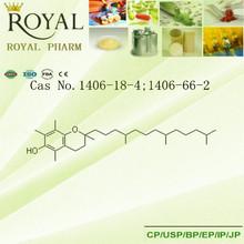 A vitamina e; tocoferol cas. 1406-18-4; 1406-66-2