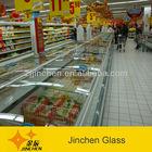 used glass door display freezers