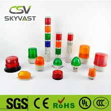 green police light bar