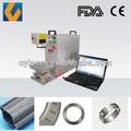 10w 20w mini fibra macchina portatile del laser incisione in metallo