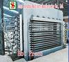 mesin hot press /plywood making equipment/machine for wood panel laminating