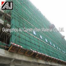 Guangzhou scaffold sheeting for a clean construction site