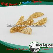 Wholesale varios color plastic fishing lure soft lure, fishing tackle of soft lure//soft bait