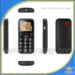 Wayestar W60 Elderly Phone/1.77 inch Quadband Dual SIM/Big Keypad SOS Button FM BT Voice Dialing