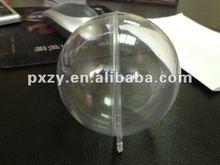 Unique fashion clear plastic craft balls ornament