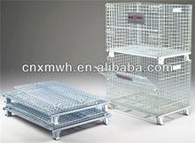 Mesh stacking frame stillage type cage for Euro pallet
