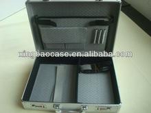 Aluminum case briefcase,attache,laptop case koffer XB-PC025