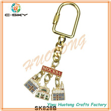 Professional Manufacturer spin key chain