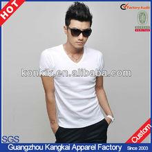 v-neck wholesale t shirts cheap t shirts in bulk plain