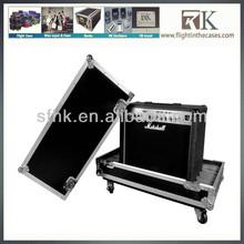 Custom Made 12u Black Case Lock For Aluminum Keyboard DJ Speaker Flight Case
