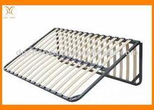 Wholesale foldng black bed frame/wood furniture