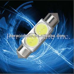 Auto LED Light 12V/24V DC LED Auto Lamp Festoon 2W cob auto led