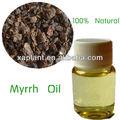 Gmp fabricante de aceite esencial de mirra estimulante/carminativo/estomacal