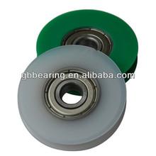 608ZZ Low noise aluminum window & door pulley with bearing
