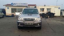 HYUNDAI TERRACAN SUV ,4X4 AUTO DIESEL