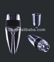 2014 Patent 2 Steps Wine Aerator,Magic Decanter Red Wine Aerator LFK-006A