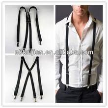 Fashion slim kinds of color men's suspenders