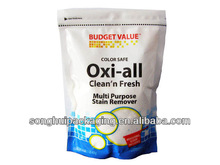 stain remover bag /gusseted detergent bag/plastic bag