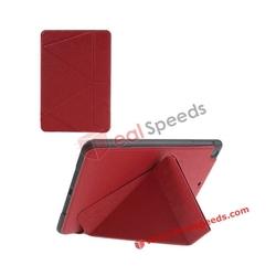 For iPad Mini 2 Smart Case ! Transformer Stand Smart Leather Folio Case