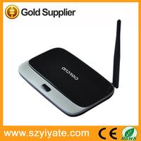 Free Sam Android Internet Media Player CS918 TV Box Android 4.2 RK3188 Quad Core 2GB RAM 8GB ROM Quad Core Google Android TV Box