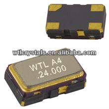 WTL quartz crystal 5.0*3.2mm SMD 4pads 13.57375MHz SMD resonator xtal