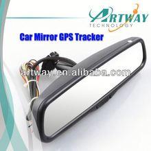 Special Car RearView Mirror 2GB Storage vehicle gps tracker cdma