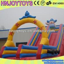 2014 new arrival custom slip n slide inflatable for sale