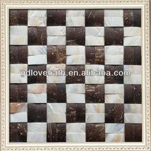 decorative mosaic tile materials used for interior design