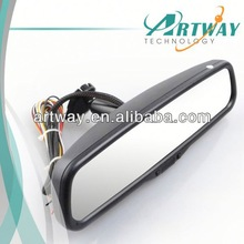 Special Car RearView Mirror 2GB Storage accurate gps vehicle tracker